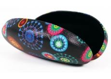 Albi Original Arabesque glasses case, leather imitation, 16 cm × 8 cm