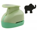 Paper punch and EVA foam approx. 2.5cm Elephant 1666 9059