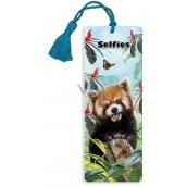 Prime3D bookmark - Panda Red 5.7 x 15.3 cm