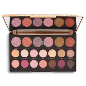 Makeup Revolution Jewel Collection Deluxe Eye Shadow Palette 16.9 g