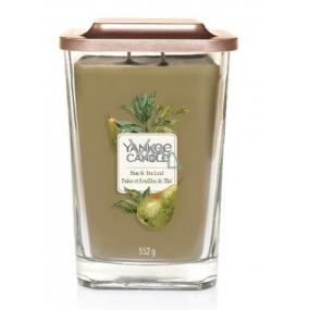 Yankee Candle Pear & Tea Leaf Elevation Large Glass 2 Wicks 552 g