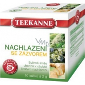 Teekanne Cold with ginger herbal tea ns 10x2g