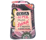 Albi Foldable handbag zipper with the name Olga 42 x 41 x 11 cm