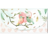 Nekupto Greeting card envelope for money Birds, K 3536
