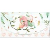 Nekupto Greeting card envelope for money Birds, K 3536