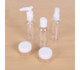 Albi Original Travel set of bottles 3 x 80 ml + 2 containers + Hydrangea case - 15 cm x 15 cm x 4.5 cm