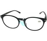 Berkeley Reading glasses +2.0 plastic black, round glass 1 piece MC2171