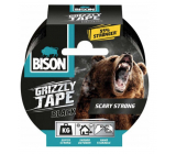 Bison Grizzly Tape adhesive tape repair black, tape width: 50 mm with a 10 m long roll