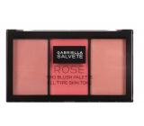 Gabriella Salvete Trio Blush Palette blush 02 Rose 15 g