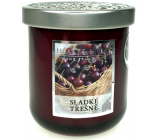 Heart & Home Sweet cherries Soy scented candle large burns for up to 75 hours 340 g