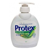 Protex Herbal antibacterial liquid soap with a 300 ml pump