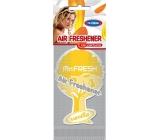 Mister Fresh Car Parfume Vanilla osvěžovač vzduchu závěsný 1 kus