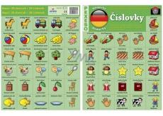Ditipo Jazykové pexeso Číslovky němčina 297 x 222 mm