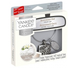 Yankee Candle Fluffy Towels - Fluffy car fragrance towels metal silver tag Charming Scents set Square 13 x 15 cm, 90 g