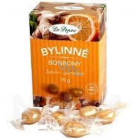 Dr. Popov Candies Ginger and orange for healthy snack 70 g