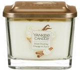 Yankee Candle Sweet Frosting - Sweet Frosting Soy Scented Candle Elevation Middle Glass 3 Wicks 347 g