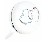 Albi Wedding bell for maxi heart round diameter 7 cm