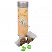 English Tea Shop Bio Soothing mixture of 15 pieces of biodegradable tea pyramids in a recyclable tin can 30 g