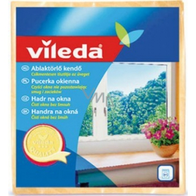 Vileda window cloth yellow 36 x 40 cm 1 piece