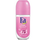 Fa Pink Passion Floral Scent ball deodorant roll-on for women 50 ml