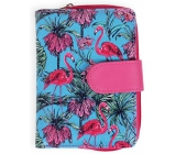 Albi Original Design wallet Flamingos 9 x 13 cm