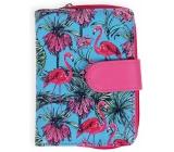 Albi Original Design wallet Flamingos 9 x 13 cm