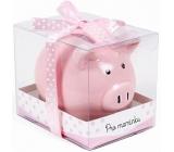 Albi Money box piggy small For mom pink 7 cm × 6.5 cm × 7.3 cm