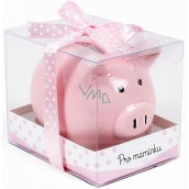 Albi Piggy Bank Small For Pink 7 cm x 6.5 cm x 7.3 cm
