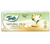 This Natural Oils Jasmine Oil perfumed hygienic handkerchiefs 4-layer 10 x 10 pieces