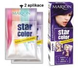Marion Star Color washable hair color Purple - Purple 2 x 35 ml