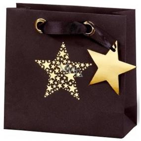 BSB Luxury gift paper bag 14.5 x 15 x 6 cm Christmas Star Festival VDT 417 - CD