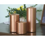 Lima Metal Serie candle copper cylinder 80 x 150 mm 1 piece