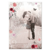 Ditipo Greeting Card Y - Total 224 x 157 mm, original song - If you are not mine - Vaso Patejdl