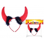 Horns maxi devil headband
