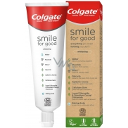 Colgate Smile for Good Protection Whitening recyclable, vegan toothpaste, contains 99.7% natural ingredients 75 ml