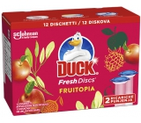 Duck Fresh Discs Fruitopia toilet gel for hygienic cleanliness and freshness of your toilet refill 2 x 36 ml