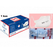 Oral protective respirator 4-layer FFP2 / KN95 face mask 1 piece