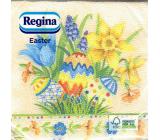 Regina Paper napkins 1 ply 33 x 33 cm 20 pieces Easter eggs, flowers