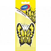 Mister Fresh Car Parfume Butterfly Vanilla Elegance hanging air freshener 7.5 g