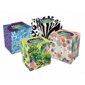 Velvet Ecopack hygienic handkerchiefs 3 layers 60 pieces in a box
