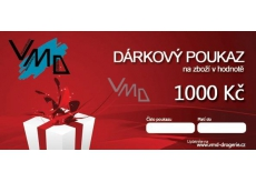 VMD Drogerie gift voucher for the purchase of goods worth CZK 1,000