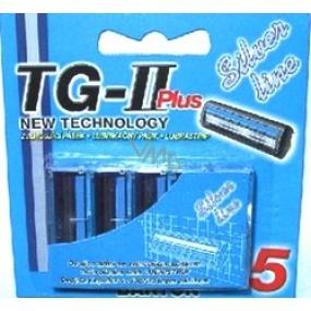Barton TG-II Plus Silver Line spare head 5 pieces