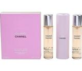 Chanel Chance Eau de Toilette Complete for Women 3 x 20 ml