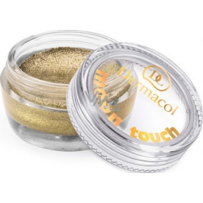 Dermacol Moon Touch Mousse eye shadow foam with moon glitter 10 4.9 g