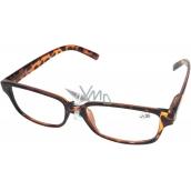 Berkeley Optical Frames +2,50 Plastic Brown Tiger 1 Piece MC2125