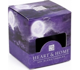 Heart & Home Mysterious full moon Soy scented candle without packaging burns for up to 15 hours 53 g