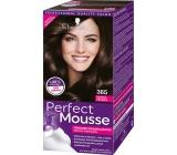 Schwarzkopf Perfect Mousse Permanent Foam Color barva na vlasy 365 Čokoládový Fondán