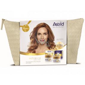 Astrid Q10 Miracle day anti-wrinkle cream 50 ml + night anti-wrinkle cream 50 ml + case, cosmetic set
