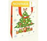 Nekupto Gift paper bag luxury 11 x 18 cm Christmas Tree WLFS