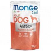 Monge Dog Grill salmon pocket 100 g